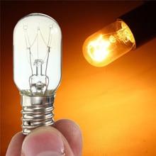 20pcs Durable E14 15W Salt Lamp Globe Light Refrigerator Light Bulb Replacement AC220-240V Easy Install Heat Resistant