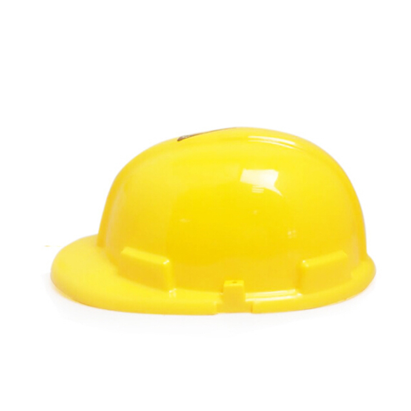 Yellow Construction Plastic Hard Hat Cap Costume Children Birthday For Kids ToyYellow Construction Plastic Hard Hat Cap Costume Children Birthday For Kids Toy