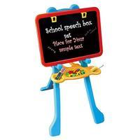Children Wooden Blackboard Magnetic whiteboard Double Sided Drawing Writing Education Board Easel Marker Pen Chalk Toys