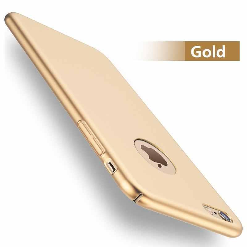 Жесткий матовый чехол для телефона с защитой на 360 градусов для iPhone XS MAX XR 5S 5 SE X 7 8 6S 6 PLUS, модный пластиковый чехол для телефона