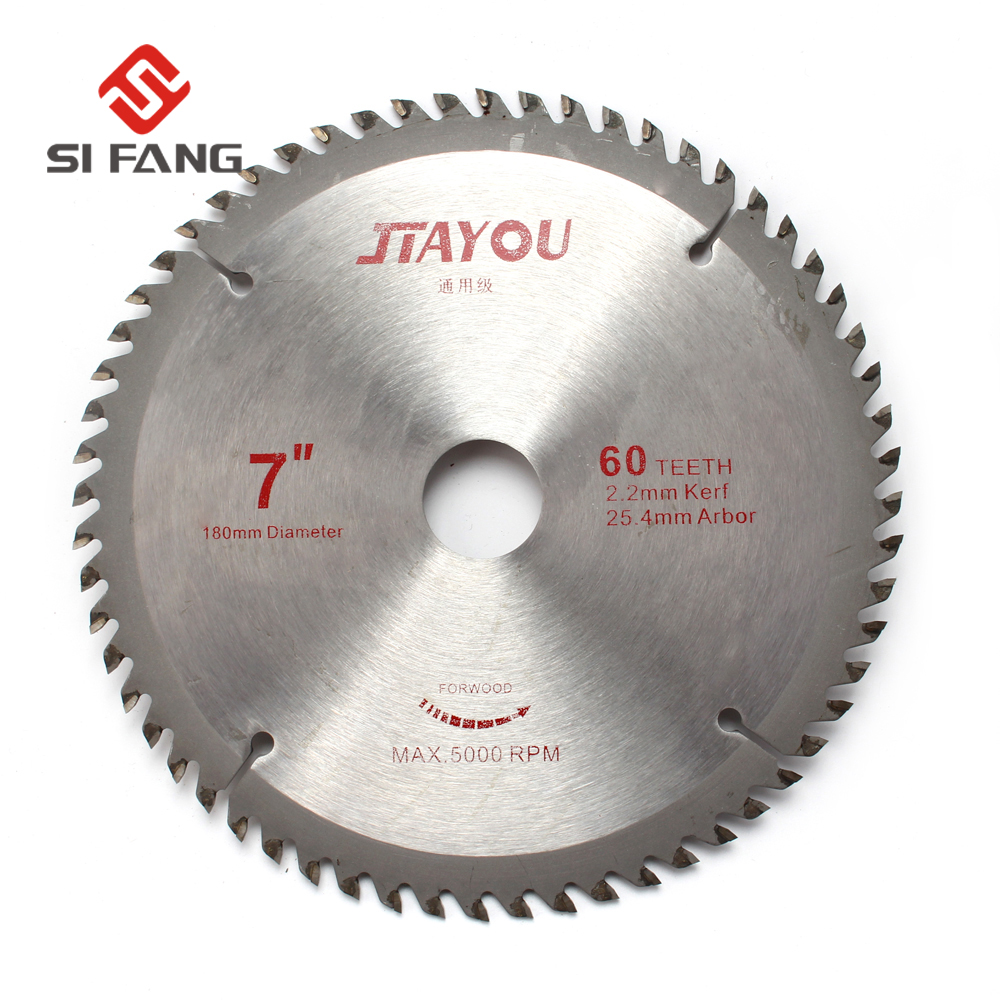 Circular Sawing Blade Wood Cutting Round Discs Sawing Cutter Tools 7 Inch Diameter 30Teeth 1