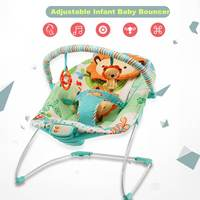 Multifunction Infant Baby Cradle Seat Electric Bouncer Swing Rocker Reclining Chair Toys Music Portable Toddlers Baby Bed