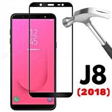 保護三星銀河J8 2018強化ガラス三星J8 2018 J6プラスJ6Plus SM J810安全ハードスクリーンフィルム