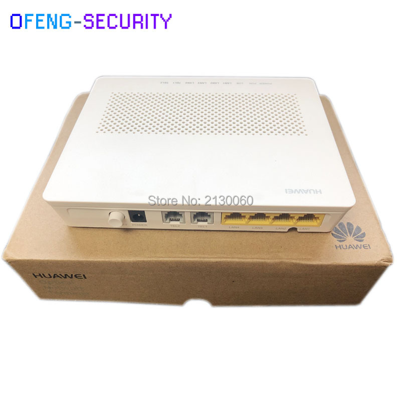 HUAWEI HG8240H GPON ONU ONT FTTH HGU Router 4GE+2Tel Class C+ SC UPC FTTH Optical Network Terminal