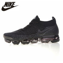 Мужские кроссовки для бега Nike Air VaporMax Flyknit Нескользящая дышащая амортизационная спортивная обувь для улицы #942842-012