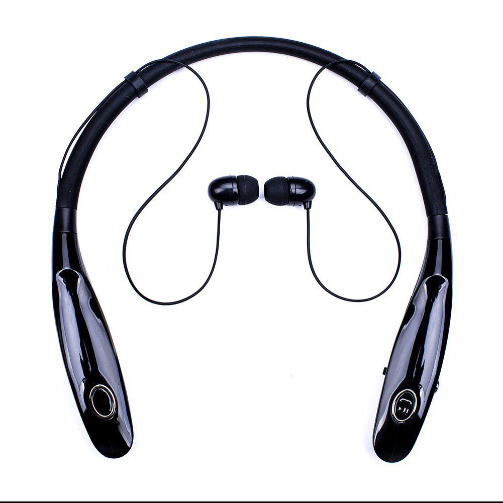 MOOL Bluetooth Headphones 14Hr Working Time, Truck Driver Bluetooth Headset, Wireless Magnetic Neckband Earphones, Noise Cance