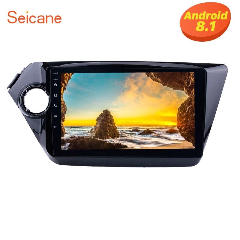 Seicane 2Din 9 Android 8 1 GPS Head Unit For 2011 2015 KIA K2 RIO Touchscreen