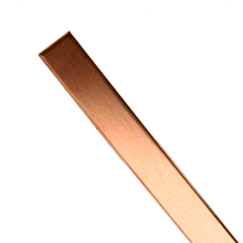 99% ทองแดงความบริสุทธิ์สูงแถบ T2 โลหะ CU แผ่นทองแดงบริสุทธิ์บาร์สำหรับ DIY CNC PCB ชุดลามิเนท Circuit บอร์ด 1.5 มม.* 10 มม.* 250 มม.