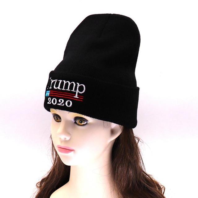 mrwonder Men Women Beanies Woolen Knitted Cap American Presidential  Election Cap for Trump Supporters Beanie Hat e0fc311b85de