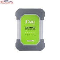 Оригинальный JDiag Elite II Pro диагностики и ЭКЮ программист инструмент JDiag J2534 Профессиональный ECU Диагностика автомобиля и программирования