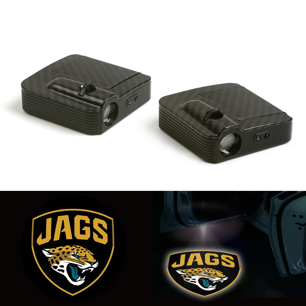 Fit For JAGS Animal Courtesy Car Logo Door Ghost Shadow Laser Projector Light 12V in Decorative Lamp from Automobiles Motorcycles