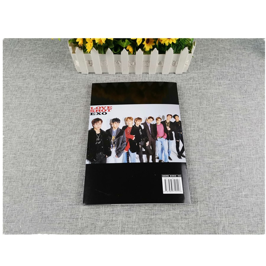 Kpop Exo Love Shot Photo Book New Album Baekhyun Chanyeol Hd Photo Picture Poster Jewelry Findings & Components