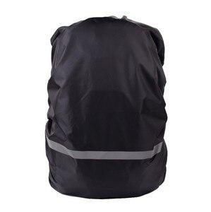 على ظهره غطاء للمطر عاكس 20L للماء غطاء حقيبة التكتيكية التخييم المشي لمسافات طويلة تسلق الرياضة أكياس الغبار غطاء للمطر