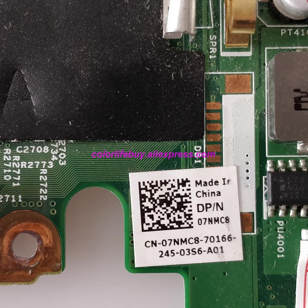 Image 3 - Genuine CN 07NMC8 07NMC8 7NMC8 HM67 HD 6470M DDR3 Laptop Motherboard Mainboard for Dell Inspiron 14R N4050 Notebook PC-in Laptop Motherboard from Computer & Office