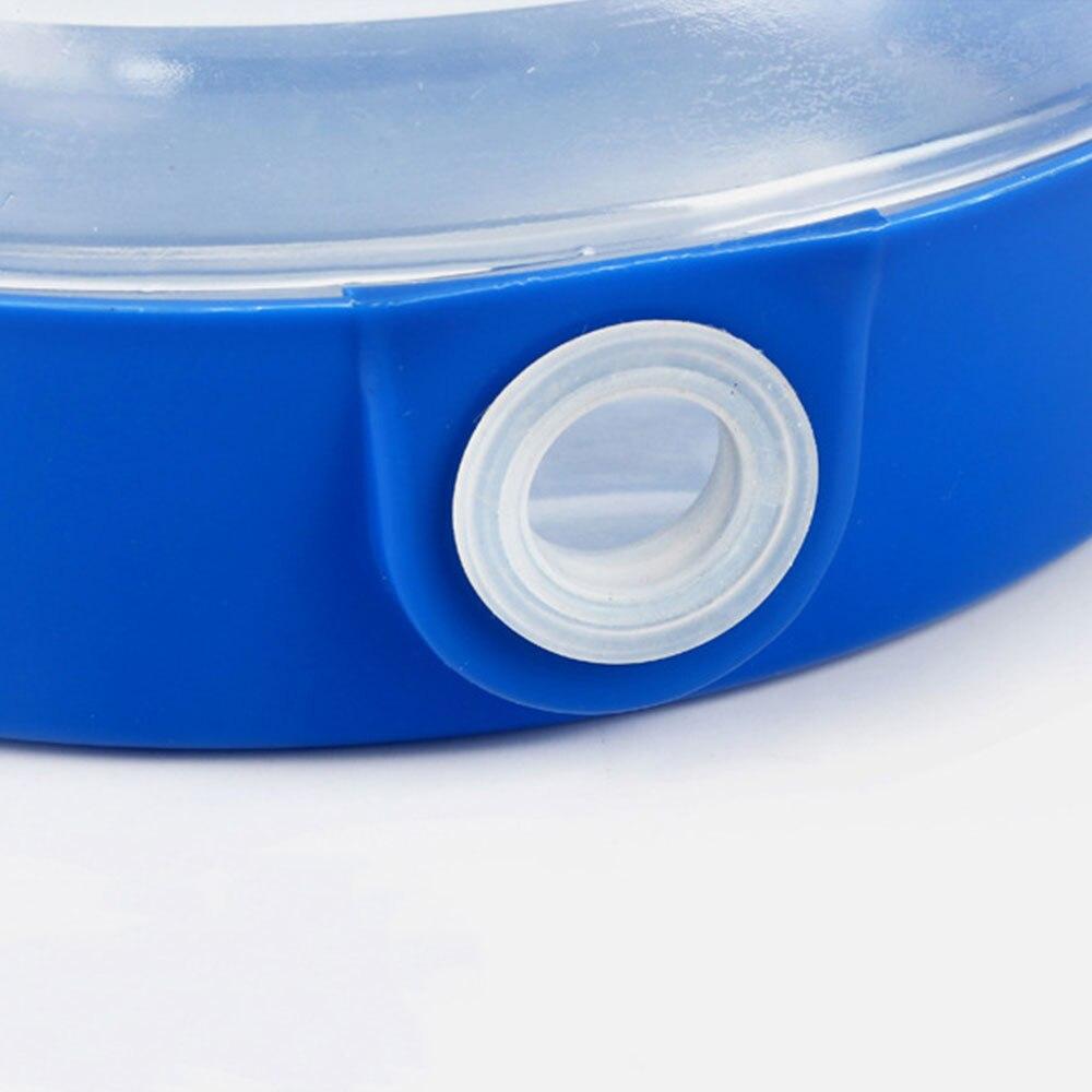 Складное ведро голубое портативное складное ванночка для ног складывающийся таз туристические поездки за рубежом принадлежности Туристические сумки для умывальника