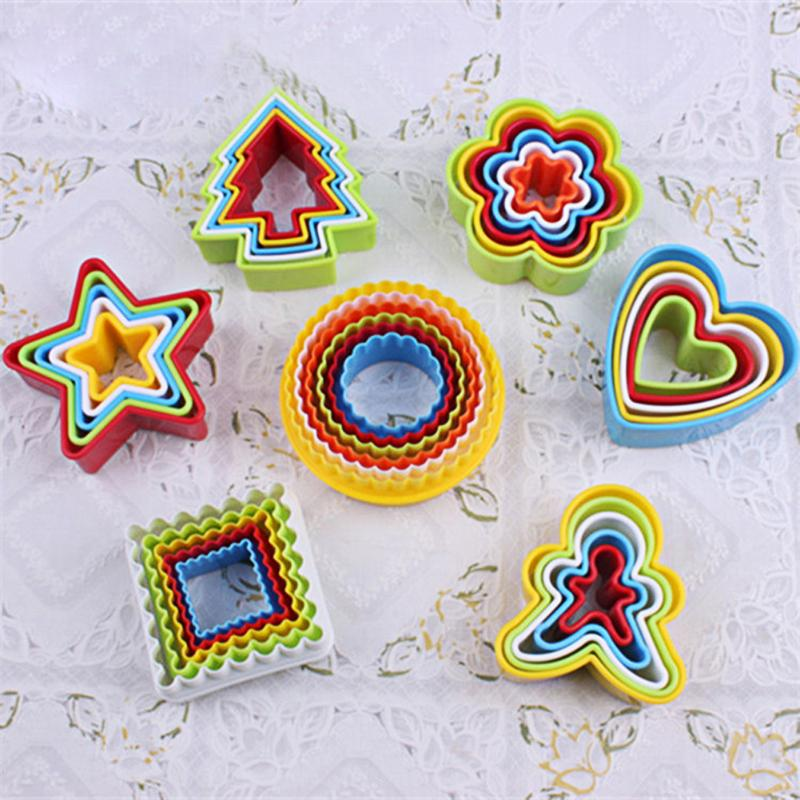 5pcs 3D Cookie <font><b>Cutter</b></font> Kitchen <font><b>Cake</b></font> Biscuit Mould Emporte Piece Patisserie <font><b>flower</b></font> <font><b>Cutter</b></font> Mold Fondant <font><b>Cutter</b></font> Baking <font><b>Decor</b></font> <font><b>Tools</b></font> image