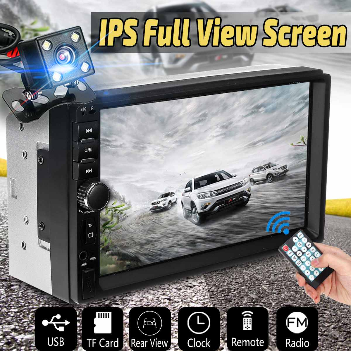 7 IPS Full View Car Radio bluetooth Car MP5 Player 2 Din Touch Screen Autoradio Auto Multimedia Player 1080P USB FM AUX7 IPS Full View Car Radio bluetooth Car MP5 Player 2 Din Touch Screen Autoradio Auto Multimedia Player 1080P USB FM AUX