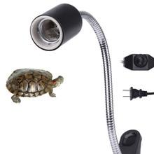Turtle Stand Accessories Durable Reptile Clip 360 Degree Rotation Heat Light Aquarium