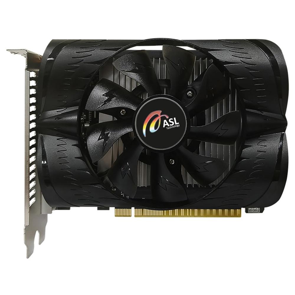ASL GeForce®GT 1030 2G D5 Carte Graphique NVIDIA GP108 6008MHZ GDDR5 2 GO 64bit 384 unités Shaders 16nm