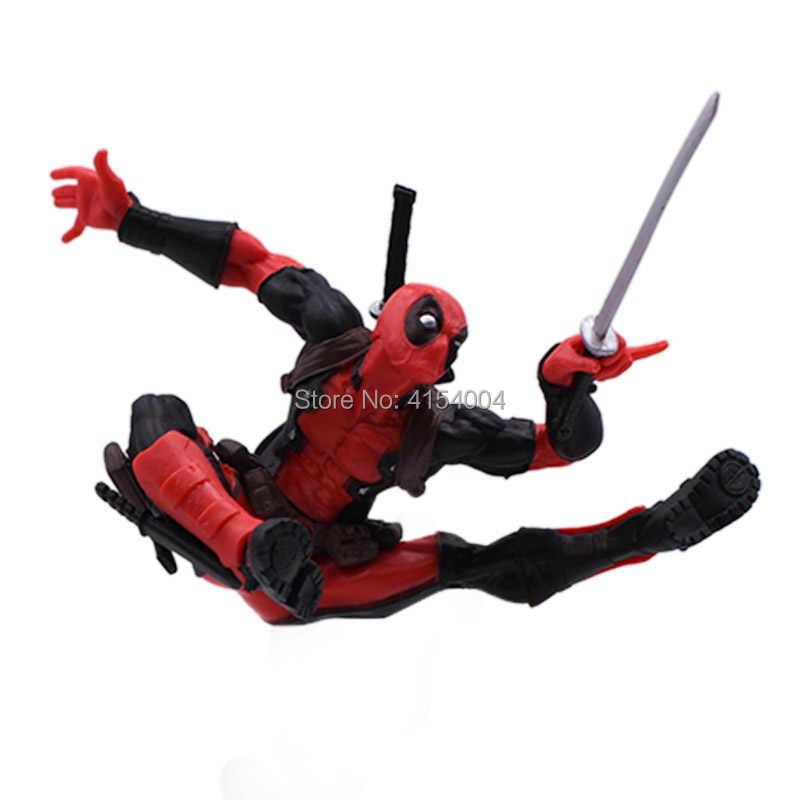 2 estilos Boneca Animiation Ocidental Quente SHFigure Deadpool Ação PVC Modelo Toy Collectible Presente de Natal Para Crianças