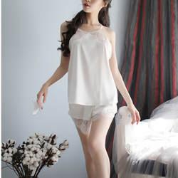 2 шт. сексуальное женское белье Шелковый халат пижамы женщина ночная рубашка