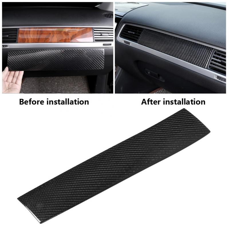 Passenger Side Box Decoration Cover Trim for Volkswagen Touareg 2010 2018 Interior Moulding Panel Cover Car