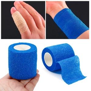 7.5cm*5m Waterproof Bandage First Aid Kit Health Care Treatment Security Self-Adhesive Elastic Bandage Emergency