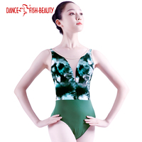 DANCE FISH BEAUTY Dancewear for Women Ballet leotard dance training clothes yoga girls Adult gymnastics leotard 2500