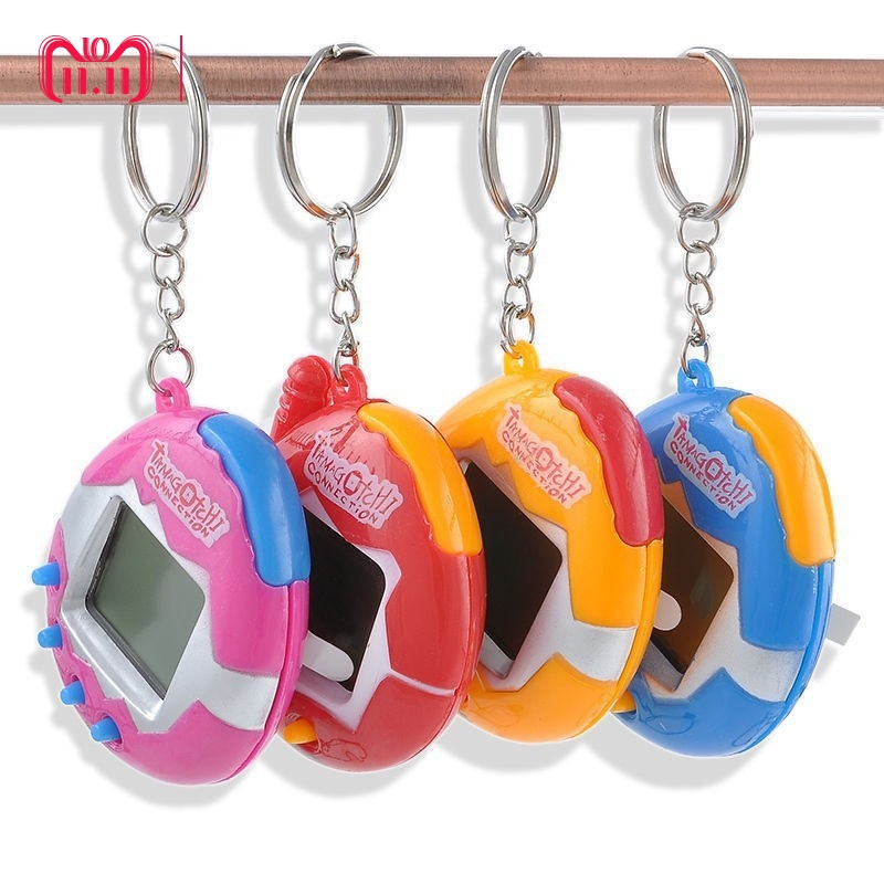 все цены на Dropshipping Multi-colors 90S Nostalgic 49 Pets in 1 Virtual Cyber Pet Toy Tamagotchis Electronic Pets Keychains Toys  онлайн