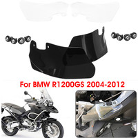 Pair Motorcycle Wind Deflectors Windshield Windscreen For BMW R1200GS 2004 2012 Left Right