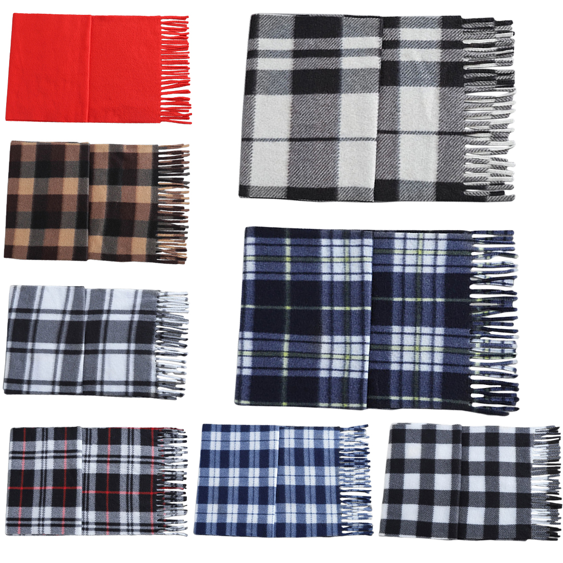 Hot New Trend Autumn And Winter Models Wool Scarf Model Large Shawl Fashion Wild Classic Men And Women Commuter Scarfs