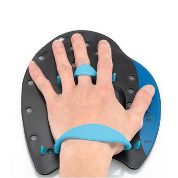 Łopatki pływackie dla dorosłych dzieci profesjonalne ruchy pływackie ćwiczenia korekcyjne narzędzia pływackie regulowane rękawice ręczne tanie i dobre opinie Silikon Swimming Training