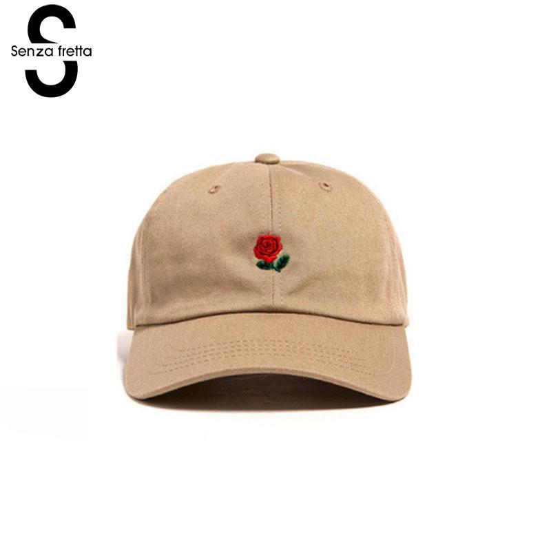 Women Men Hundreds Dad Hat Flower Rose Embroidered Curved Brim   Baseball     Cap   Visor Hat Snapback   Baseball     Cap   Unisex Hats