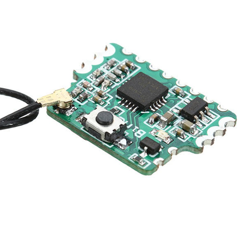 Venda quente 2.4g 8ch d8 mini receptor compatível com pwm ppm saída sbus para modelos rc brinquedos multicopter diy acessórios