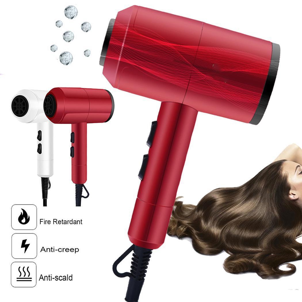 שיער חם סלון ספירלת 220 v גבוהה מייבש קבצי יון כן תרמוסטטי קר רוח כוח אילם בית חוט חמש שלילי מנוע DC