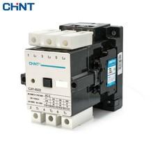 цена на CHINT AC Contactor CJX1-85/22 85A 380v 220v 110v 36v 24v Coil Din Rail Universal AC Contactor