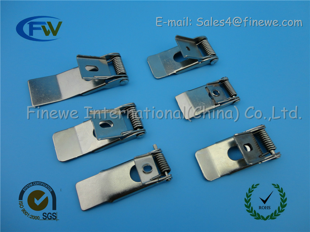 fumao manufacturer supplied 50x20mm flat steel spring for lighting led panel clips