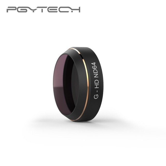 PGYTECH for DJI Mavic Pro ND4/8/16/32/64 Camera Lens Filter HD Multi Layer Coating Reducing Cama Lens ND Filter Accessories