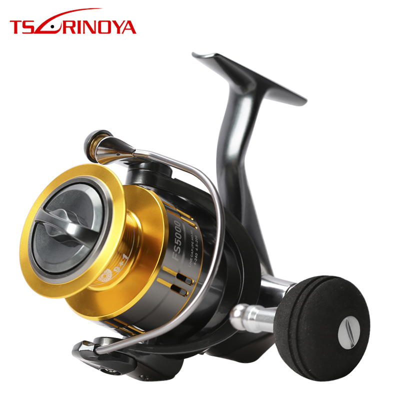 TSURINOYA moulinet de pêche FS 4000 5000 9 + 1BB MAX glisser 11 KG pêche en eau salée filature leurre bobine roue gabarit