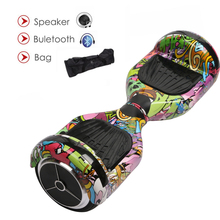 6.5inch Hoverboards Self Balancing Scooter Electric Skateboard Overboard Mini Skywalker With Bluetooth Speaker