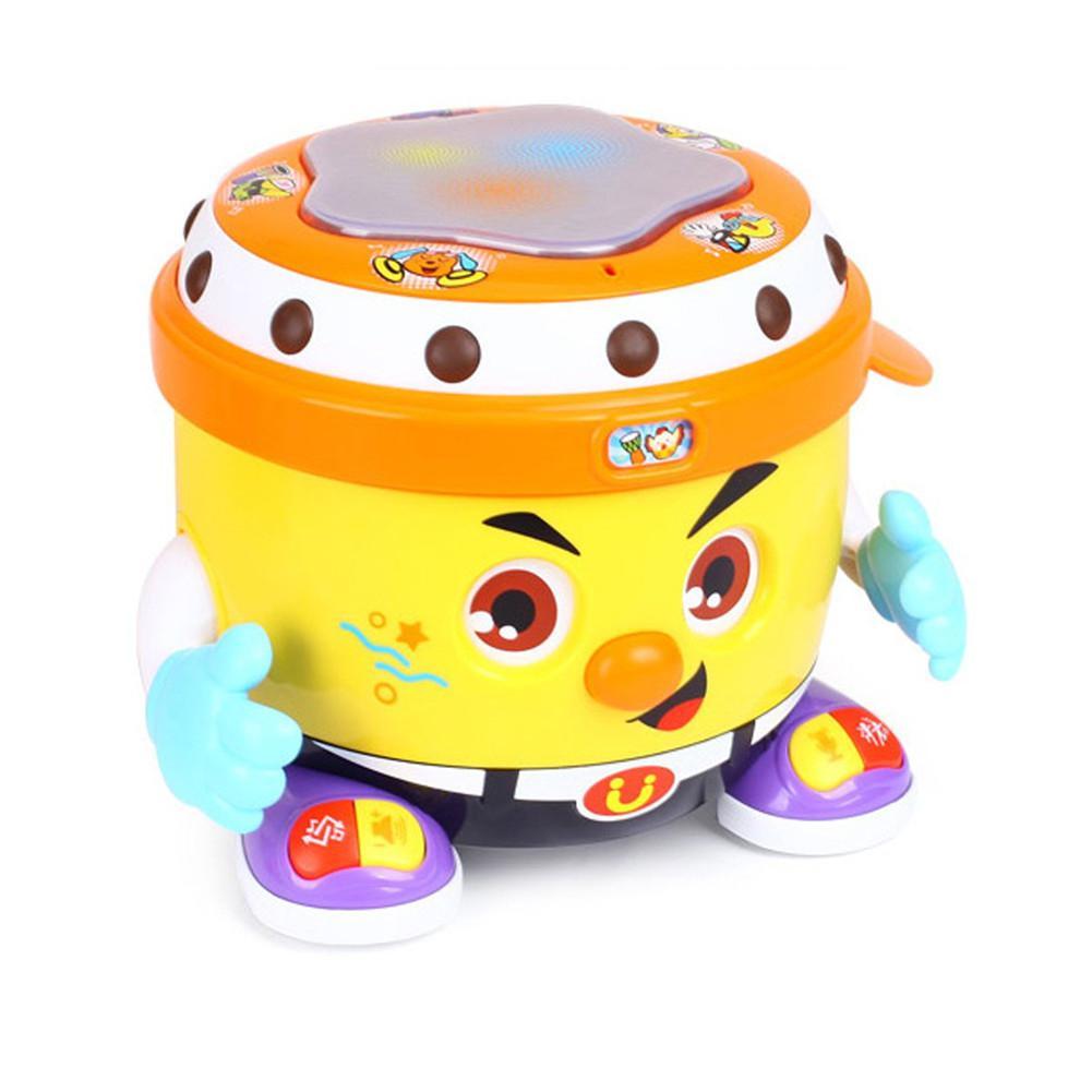 Enfants bébé bébé musique DJ Bongo Puzzle Pat jouet bébé main tambour jouet musique tambour éducation précoce Puzzle Pat tambour