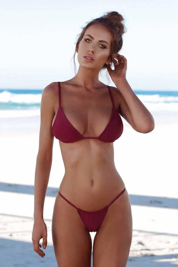 Baño Verano Hirigin Monokini Soporte Bikini Bequini Push Revender Traje De Up Acolchado 2019 Mujeres Tanga Sexy tshCQrd