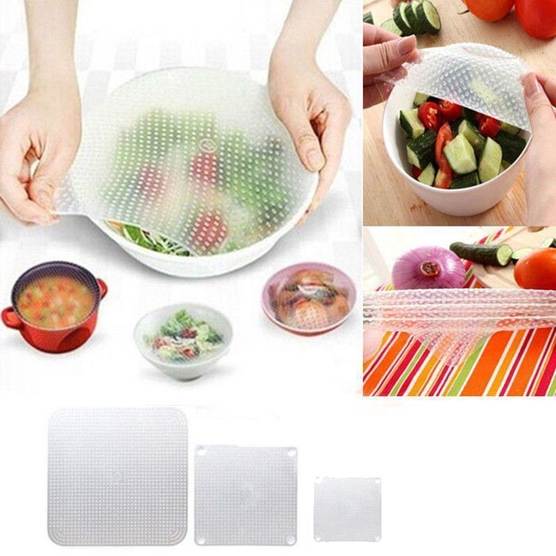 Gadgets Food Magic Vacuum Pc Wrap New Fresh 1 Silicone Food Wrap Storage Seal Keeping