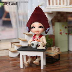 Realpuki Sira BJD Dolls 1/13 Long Ears Smile Fun Unique Quirky High Quality Toy For Girls Best Gifts FL Fairyland