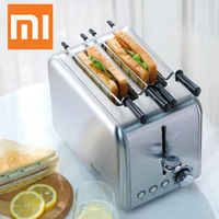 Xiaomi Deerma Automatic Electric Bread Baking Machine Toaster Household Breakfast Toast Sandwich Maker Reheat Kitchen Grill Oven