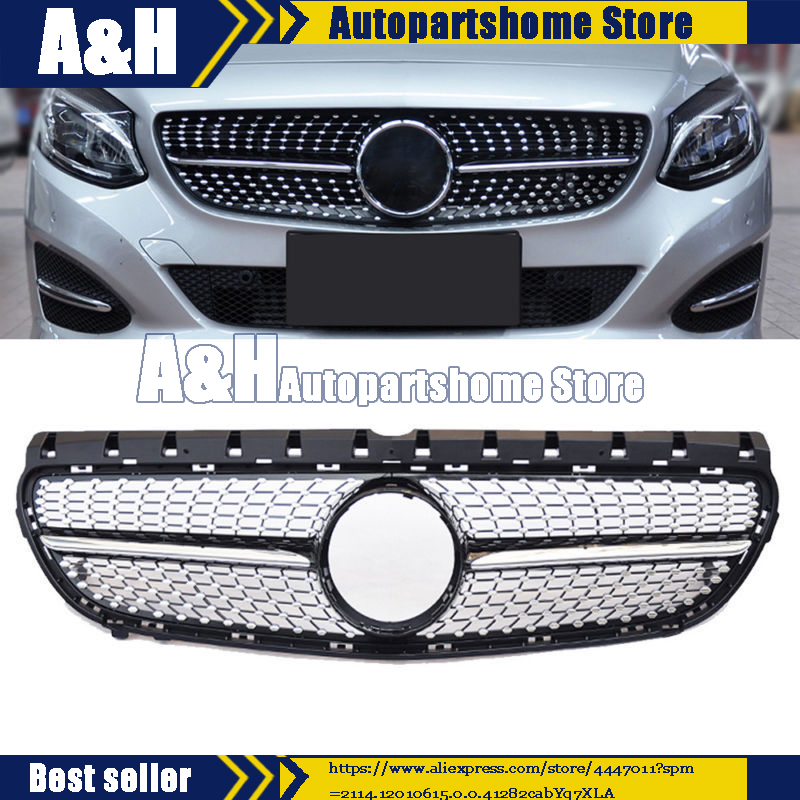 For Mercedes Benz W246 B200 B Class 2015 2016 2017 Front