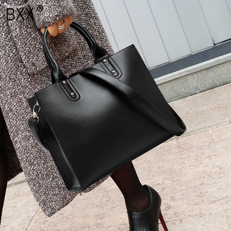 Women's Bags Luggage & Bags 2019 New Tide Fashion Temperament Black High Capacity Single Strap Bussiness High Quality Shoulder Bag Handbag Lm902 High Quality And Low Overhead bxx