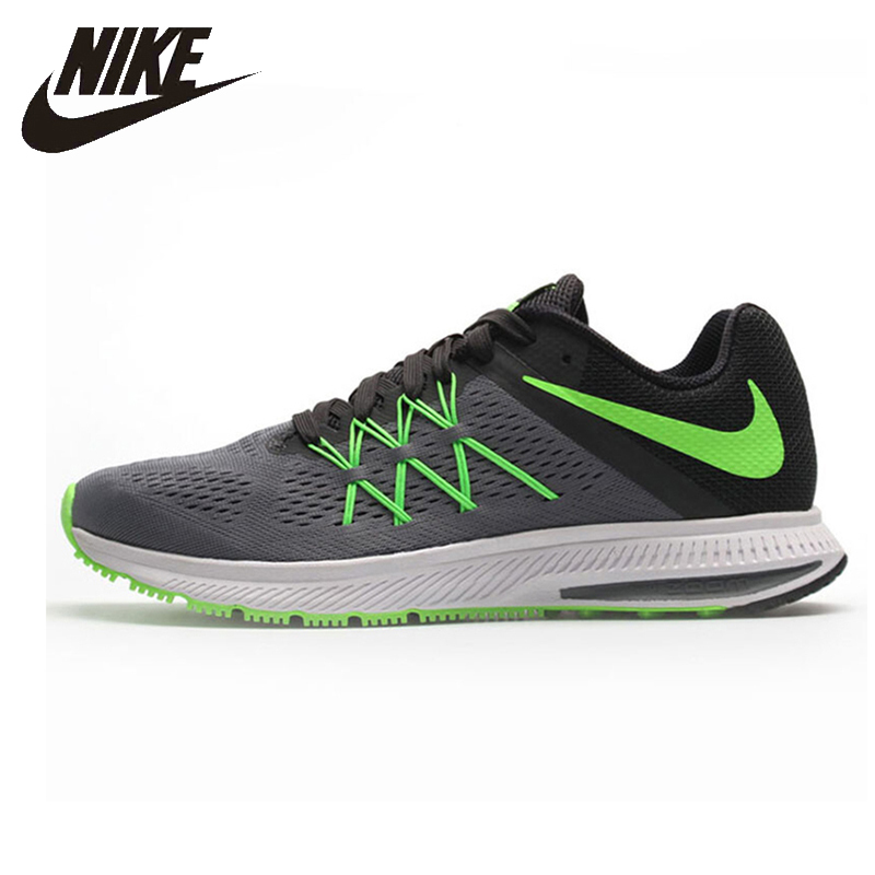 Nike Air Zoom Winflo 3 Original New Arrival Men Running Shoes Breathable Sports Outdoor Sneakers #831561-003Nike Air Zoom Winflo 3 Original New Arrival Men Running Shoes Breathable Sports Outdoor Sneakers #831561-003