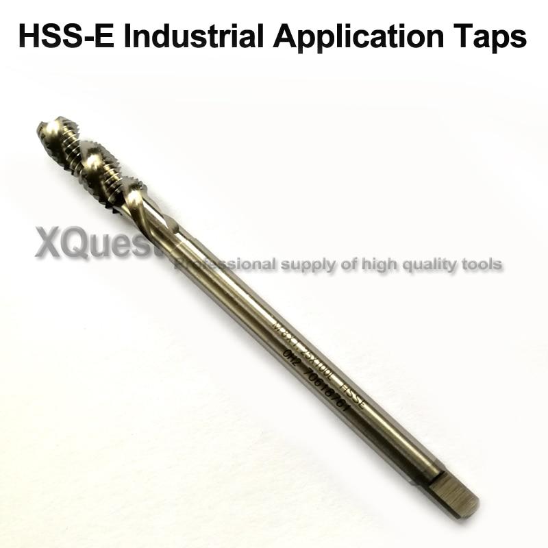 M2.6 X .45 HIGH SPEED STEEL LEFT HAND PLUG TAP