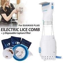 Электрическая расческа для блох, безопасное устройство для устранения шерсти у щенков, кошек, европейская вилка, товары для питомцев